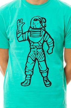 Billionaire Boys Club Tee OG Astronaut Green