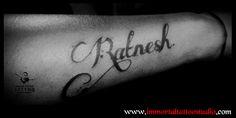 #artoflife #inkoftoday #tattoolife #artaddict #artoftoday #tattoo ed #supportart #tattoos #tattooartist #tattoo #tattooist #tattootime #ink #tattooflash #inktattoo #tattoolove #tattoodesign #tattooing #tattooart #tattooink #Ink #inked #Unique #name #Art #Indore at Immortal Creative Tattoo Studio #Indore #Dina-Karan ur views, Comments and shares would be Appreciated!