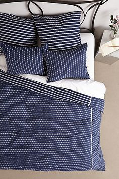 Dots & Stripes Duvet #anthroregistry #housewarming