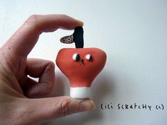 Mini apple by Lili Scratchy.
