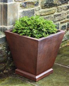 14.5 in. Barkly Tapered Square Box Planter $98