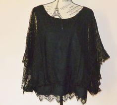 Black Lace Blouse #StyleCompany #Blouse