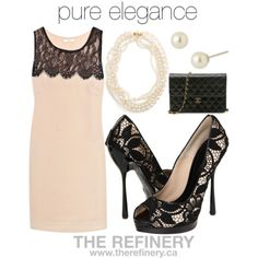 black and white lace shoes outfit - Google Search
