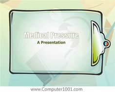 Medical Pressure Design Template