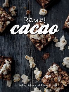 Rawr! Cacao - The new FREE eBook from Sexy Super Natural - Sugar Free Superfood Chocolate recipes
