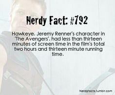 That is why he needs a movie of his own!