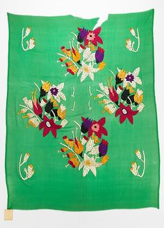 The Met. Textile: Silk, 1920-29. Artist: attributed to Sarah Lipska