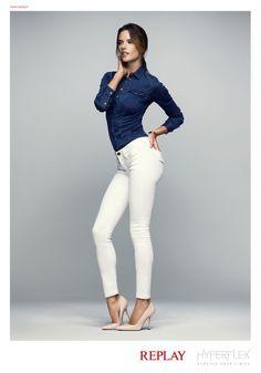 Alessandra Ambrosio Stars in Replay Denim Hyperflex 2014 Ad