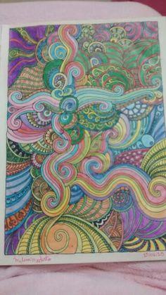 """Primeira ilustraçao de """"O livro anti-insônica"""" The Can't Sleep Colouring Book (Creative Colouring for Grown-Ups)"""