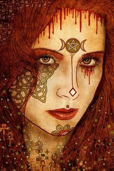 """""""I am Witch. I Cast out disease and pain from your body. I Cast out sorrow from your mind. I am Healer. I am Witch."""" /Love this EL/ Pagan Art, Pagan Witch, Witches, Tarot, Witch Art, Coven, Book Of Shadows, Occult, Portrait"""