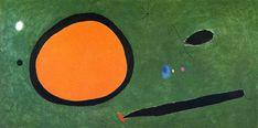 Joan Miro — Bird's Flight in Moonlight, 1967, Joan Miro