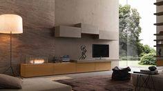 soggiorno di design imodulart composizione 288
