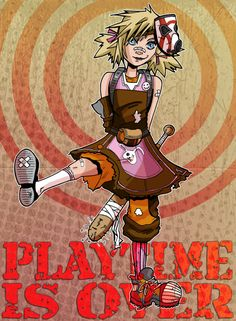 Play Time Is Over Tiny Tina Borderlands 2 by ArtOfAnastasiaCatris, £5.00