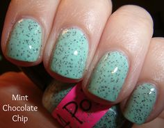 Totally looks like mint chocolate chip ice cream! #indie