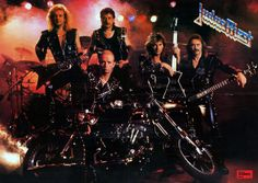 Judas Priest in the Ram it Down era