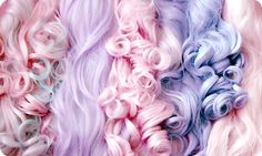We ♡ pastel hair... what is your favorite shade?