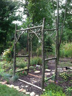 Garden Arbor- rustic