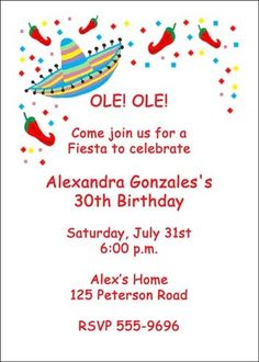 36 Best Cinco De Mayo Mexican Party Invitations Images