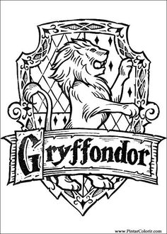 Harry Potter Coloring Pages 114 In This Page You Can Find Free Printable Lot Of Collection