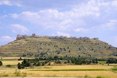 fortaleza de Gormaz, en la provincia de Soria