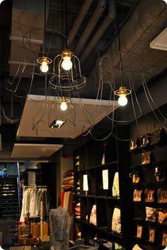 genius lighting idea for small spaces