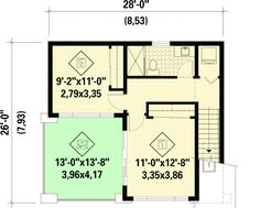 Plan 80878PM: Dramatic Contemporary with Second Floor Deck