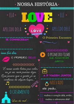 Chalkboards, First Kiss, First Dates, Engagements, Weddings, Fiestas, Wall, Digital Art, Blackboards