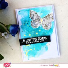 Handmade with Love: Watercolor with Distress Inks | Video Tutorial | G...