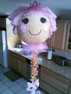 Lalaloopsy y amigo piñata por SmashingFunCreations en Etsy