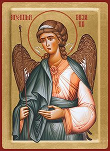 3/01 - Archangel Gabriel, icon Michael Angel, Romulus And Remus, Archangel Gabriel, Architecture Art Design, Byzantine Icons, Principles Of Art, Angel Statues, Angels Among Us, Albrecht Durer