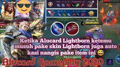 Alucard Lightborn vs Lightborn Musuh!! Auto Bantai Pake Build Ini - Aluc... Alucard Mobile Legends, The Creator, Youtube, Youtubers, Youtube Movies