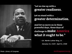 45 years ago, Dr. Martin Luther King, Jr. was taken from us far too soon. #mlk #1u