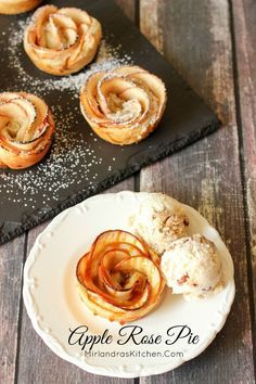 These Apple Rose Pie