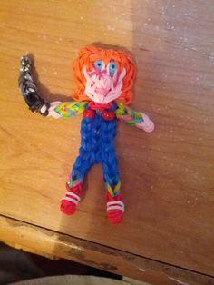 Rainbow loom Chucky.