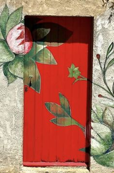Old And New, Street Art, Flag, Doors, Painting, Painting Art, Paintings, Science, Painted Canvas
