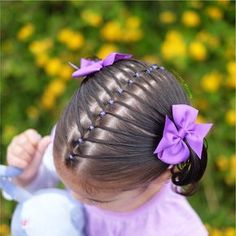 WE WON! Thank you so much to everyone that voted for us! Girls Hairdos, Lil Girl Hairstyles, Kids Braided Hairstyles, Princess Hairstyles, Children Hairstyles, Toddler Hairstyles, Trendy Hairstyles, Braids For Kids, Girls Braids