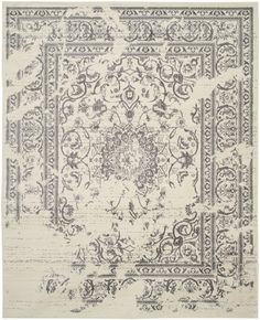 Just for You Costa Mesa Ivory/Silver Area Rug by Trent Austin Design Silver Rug, Oriental Pattern, Grey Rugs, Oriental Rug, Safavieh, Rugs, Colorful Rugs, Rugs Online, Vintage Area Rugs