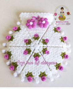 Likes, 48 Comments - Muh Crochet Flower Hat, Crochet Flower Patterns, Crochet Blanket Patterns, Knitting Patterns, Diy Crafts Crochet, Crochet Projects, Diy Embroidery Patterns, Quick Crochet, Crochet Accessories