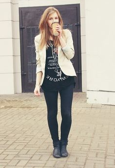 great way to glam up a tee