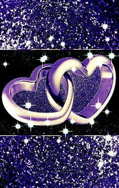 Heart Iphone Wallpaper, Lit Wallpaper, Glitter Wallpaper, Purple Love, All Things Purple, Dreamcatcher Wallpaper, Beautiful Love Pictures, Wall Paper Phone, Wall Art Pictures