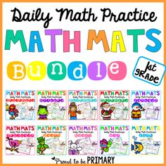 Math tips and strategies for building number sense to 20 in Kindergarten and first grade. An extensive list of number sense activities and resources are included: books, manipulatives, and FREE activities!