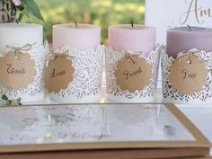 Pillar Candles, Wedding, Lisa, Bullet Journal, Civil Wedding, Wedding Posters, Wedding Inspiration, Valentines Day Weddings, Weddings