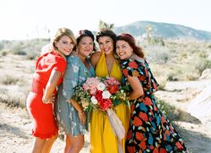 Davis + Chris's Retro Desert Wedding in Joshua Tree | Ben Christensen