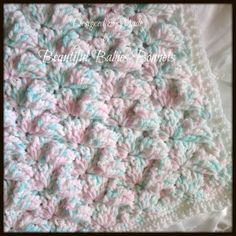 Crochet Pattern For Babys Thick & Chunky Textured Pram/Cot Blanket Afghan Yarn Crafts, Diy Crafts, Cot Blankets, Baby Afghans, Craft Supplies, Knit Crochet, Projects To Try, Crochet Patterns, Etsy Shop