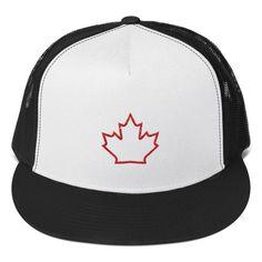 CANADA Maple Leaf Trucker Cap