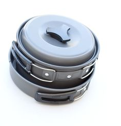 Tekma Sport - Lightweight Camping Cookware and Mess Kit for your Backpack With Free Bonus All Purpose Spoon Fork and Knife Cooking Utensils *** Check out this great image : Camping gadgets