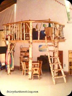 Fairy Dust Teaching Kindergarten Blog: Waldorf... WHAT a loft!!