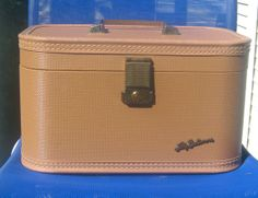 #shopetsy #Vintage Lady Baltimore Tan Color Train Case  14 x 8 by TwillaGirl, $35.00