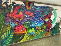"""""""Trabalho feito p/ tela aula do instituto Anísio Teixeira, transmitido p/ toda Bahia pelo menos p/ 10 mil alunos.... Aprender com arte é outra coisa...⚡️""""     calangoss, artist,  Salvador, Brazil"""
