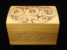 Pyrography Chest